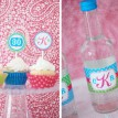 Lilly Pulitzer Inspired Monogram Printable Collection